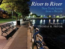 cover art of Thomas R. Pryor's River to River: New York Scenes from a bicycle